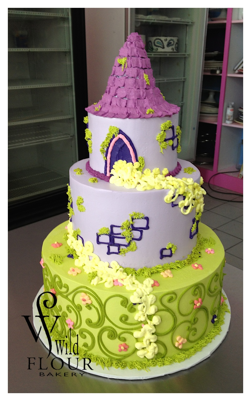 19 - Rapunzel *Occasion cake must be ordered as two tiers*